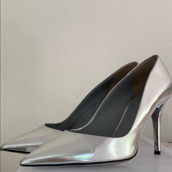 Tamara Mellon Shoes - Silver heels